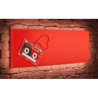 Лайтбокс для гостиной или спальни Кассета BoxPop 45x135-p030