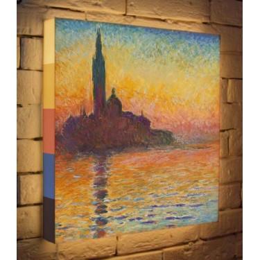 Лайтбокс для гостиной или спальни Клод Моне BoxPop 45x45-132