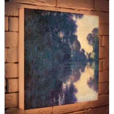 Лайтбокс для гостиной или спальни Клод Моне BoxPop 45x45-146