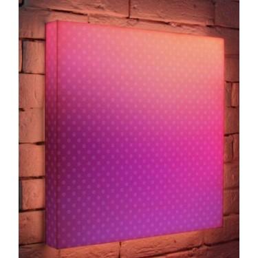 Лайтбокс для гостиной или спальни Лиловый BoxPop 45x45-080