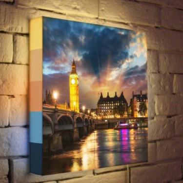 Лайтбокс для гостиной или спальни Лондон BoxPop 35x35-101