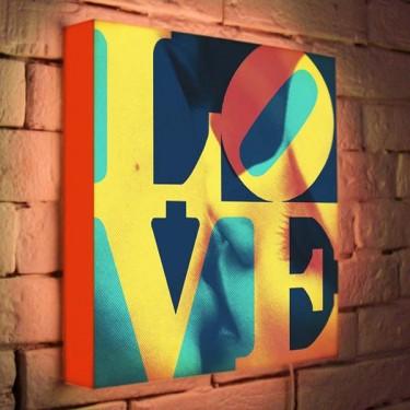 Лайтбокс для гостиной или спальни Love BoxPop 35x35-041