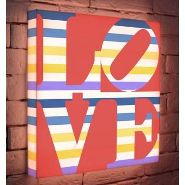 Лайтбокс для гостиной или спальни Love BoxPop 45x45-125