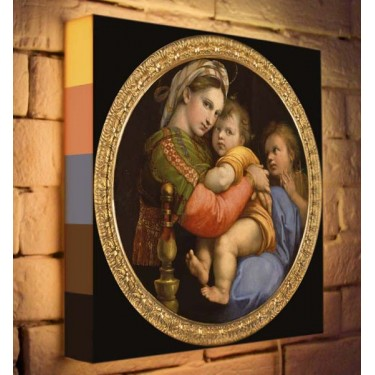 Лайтбокс для гостиной или спальни Мадонна BoxPop 35x35-165