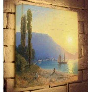 Лайтбокс для гостиной или спальни Неополь BoxPop 35x35-160