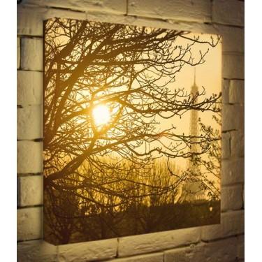Лайтбокс для гостиной или спальни Осенний туман BoxPop 45x45-090