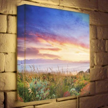 Лайтбокс для гостиной или спальни Пейзаж BoxPop 35x35-112
