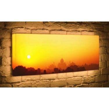 Лайтбокс для гостиной или спальни Рассвет BoxPop 45x135-p021