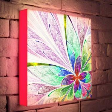 Лайтбокс для гостиной или спальни Цветок BoxPop 35x35-015