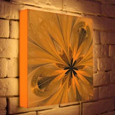 Лайтбокс для гостиной или спальни Цветок BoxPop 35x35-050