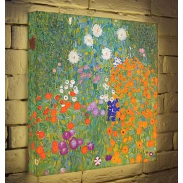 Лайтбокс для гостиной или спальни Цветы BoxPop 45x45-038