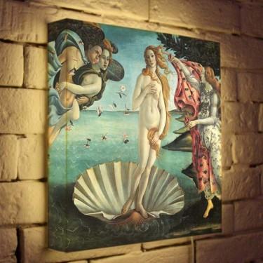 Лайтбокс для гостиной или спальни Венера BoxPop 35x35-139