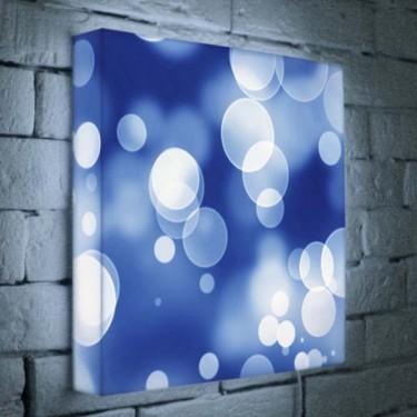 Лайтбокс для гостиной, кухни или офиса Абстракция BoxPop 35x35-069