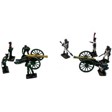 Набор миниатюр в деревянной шкатулке Артиллерийское сражение Rovertime 31.50.M
