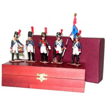 Набор миниатюр в деревянной шкатулке Старая гвардия Rovertime 31.48.M