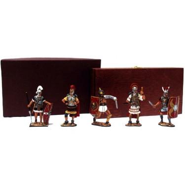 Набор миниатюр в деревянной шкатулке Великий Рим Rovertime 31.52.M