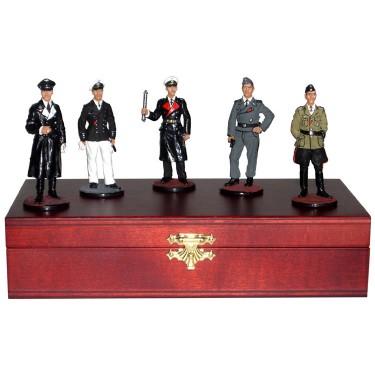 Набор миниатюр в шкатулке Немцы II мировая война Rovertime 31.56.M