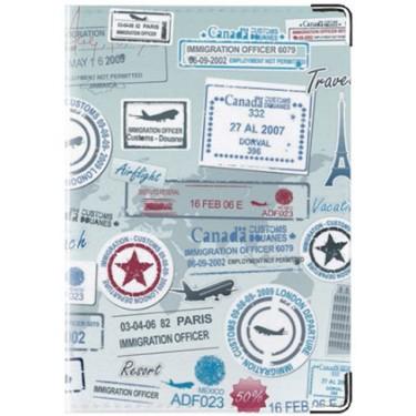 Обложка для документов Shot Стандарт Отметки путешественника