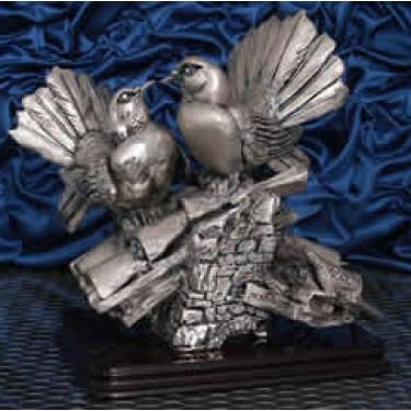 Пара голубей на крыше Moda Argenti ST 562 B/SP