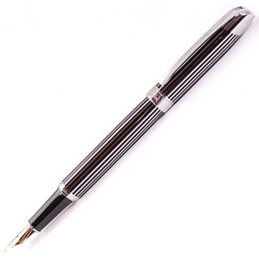 Перьевая ручка Fandini Fn302F Silver Line