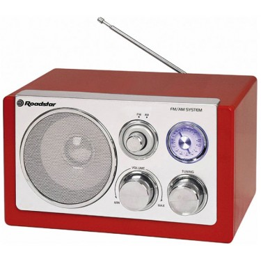 Ретро-радиоприемник RoadStar HRA-1200N/RD