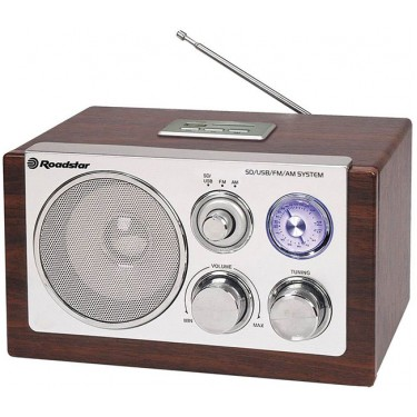 Ретро-радиоприемник RoadStar HRA-1325US/WD