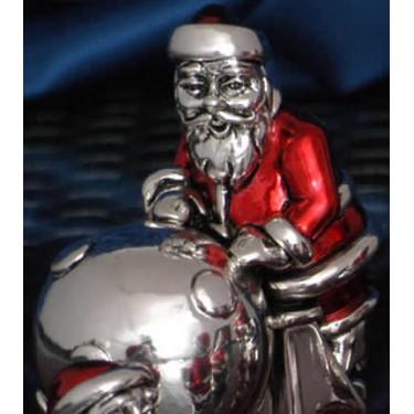 Санта Клаус со снежным комом Moda Argenti BN 303С