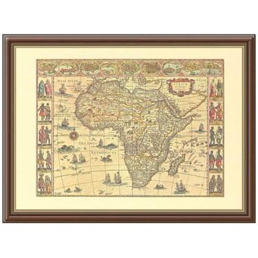 Старинная карта в рамке Marcrown M.A.-7