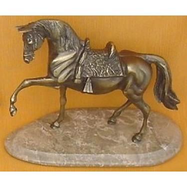 Статуэтка из бронзы Arcobronze 8425М Лошадка