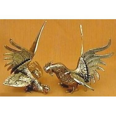 Статуэтка из бронзы Arcobronze 9106Р Фигурки птиц (комплект 2)