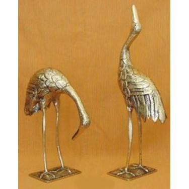 Статуэтка из бронзы Arcobronze 9172 Фигурки птиц (комплект 2)