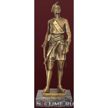 Статуэтка Петр I из бронзы Vel 03-08-01-17700