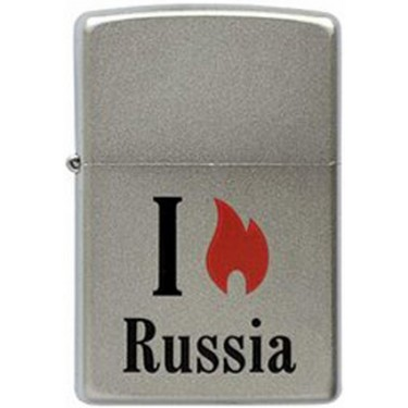 Зажигалка Zippo 205 Flame Russia (MP317364)