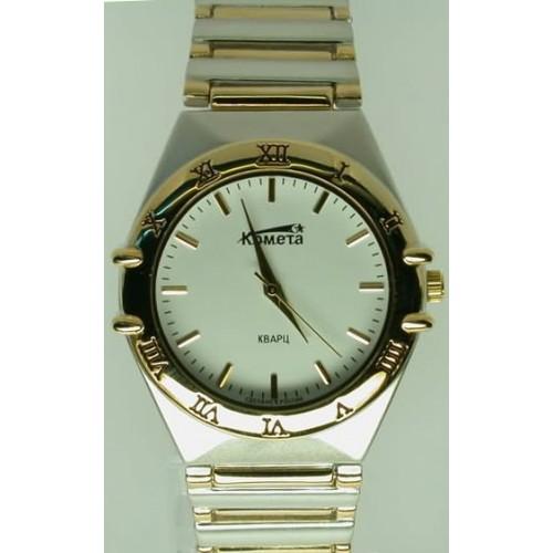 55d0cf176fea Купить наручные часы Комета 023 4281 Кварц бр-т муж. - оригинал в ...
