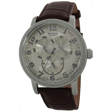 Мужские наручные часы Спутник Престиж HM-1X934/1 (беж.)