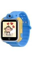 Smart Baby Watch Q730 желт-голубые