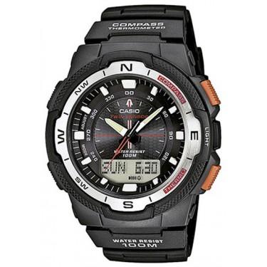 Мужские спортивные наручные часы Casio Sport, Pro Trek SGW-500H-1B