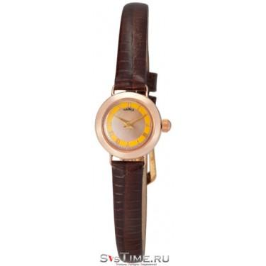 Женские золотые наручные часы Чайка 44150-1.417