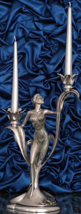 Moda Argenti Подсвечник Дама под две свечи Moda Argenti СD 301 SP