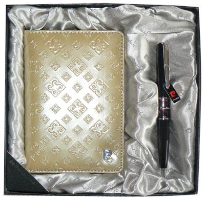 Pierre Cardin Обложка для паспорта и ручка Pierre Cardin PS1138GD