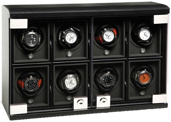 Underwood Шкатулка для хранения часов с автоподзаводом Underwood UN/816/C Black
