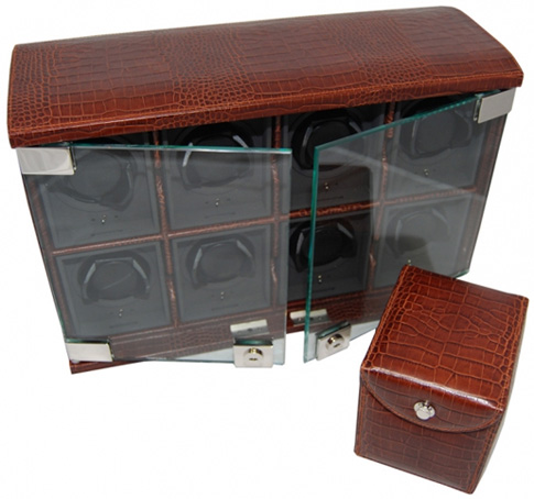 Underwood Шкатулка для хранения часов с автоподзаводом Underwood UN/818/C Brown
