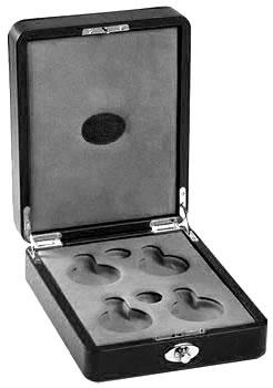 Underwood Футляр для 4-х карманных часов Underwood UN/218 Black