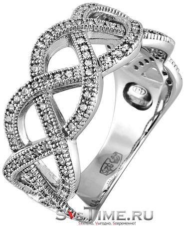 Ambrosia Ambrosia AAA 009 53 женские кольца jv женское серебряное кольцо с куб циркониями f 642r 001 wg 17 5