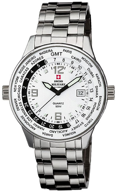 Swiss Military by Chrono Swiss Military by Chrono SM34007.02 swiss military швейцарские наручные