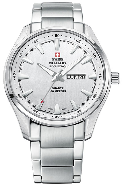 Swiss Military by Chrono Swiss Military by Chrono SM34027.02 swiss military швейцарские наручные