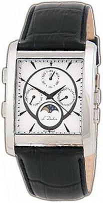 L Duchen Мужские швейцарские наручные часы L Duchen D 537.11.32 l duchen швейцарские наручные  мужские