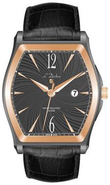 L Duchen Мужские швейцарские наручные часы L Duchen D 301.91.21 l duchen швейцарские наручные  мужские