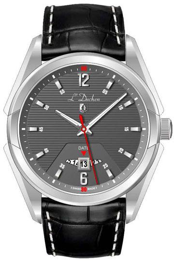 L Duchen Мужские швейцарские наручные часы L Duchen D 191.11.12 l duchen швейцарские наручные  мужские
