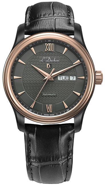 L Duchen Мужские швейцарские наручные часы L Duchen D 253.91.21
